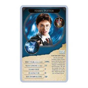 Top Trumps Harry Potter card