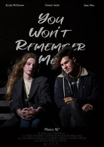 Film poster for KTV's You Won't Remember Me (2019)
