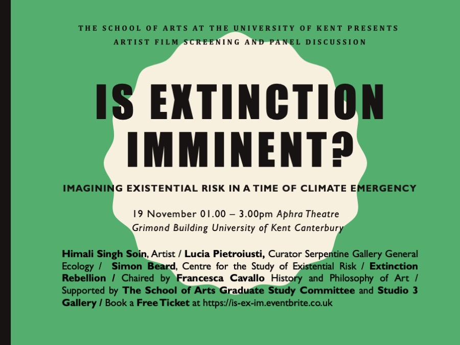Is Extinction Imminet.flyerA3