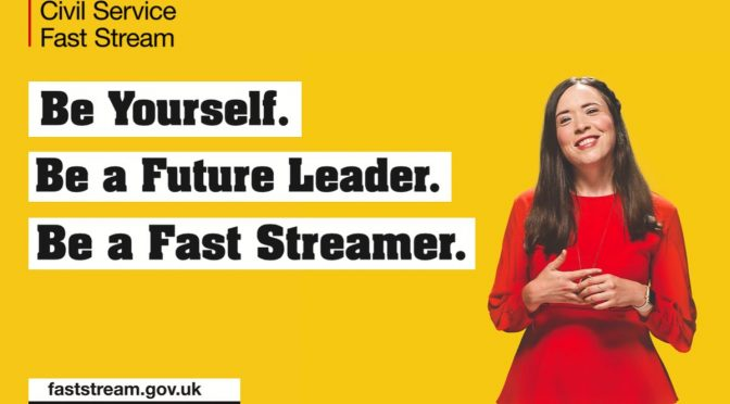 Fast Stream Applications Close Thursday at Midday