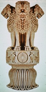 lion india ashoka
