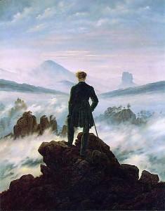 The foggiest notion: Der Wanderer über dem Nebelmeer, Friedrich