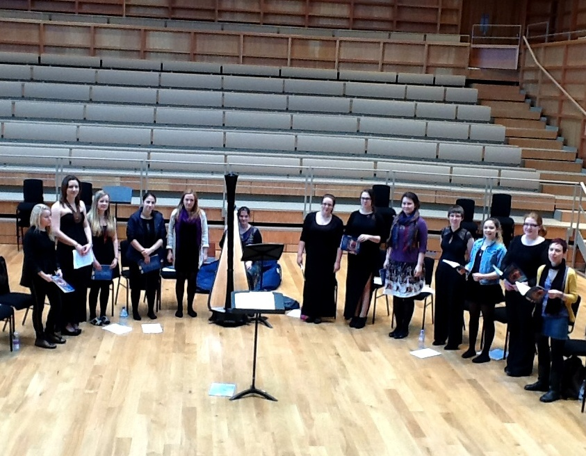 In rehearsal: the Cecilian Choir
