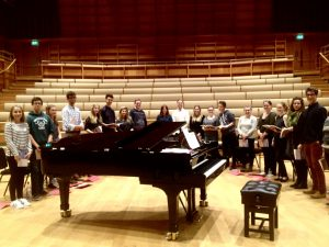 second-week-rehearsal Chamber Choir 2016