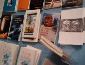 The Cultured Llama bookstall