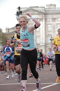 Anna Pollard London Marathon 2012