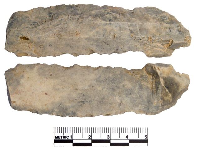 A flint blade from last year's collection