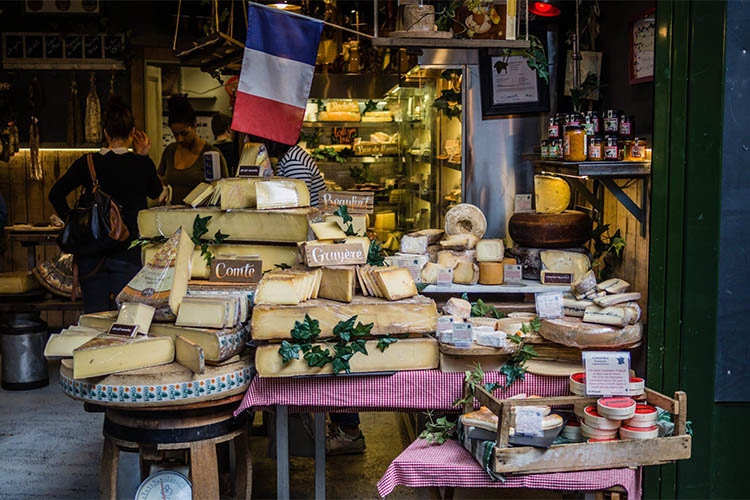Cheese market in Europe