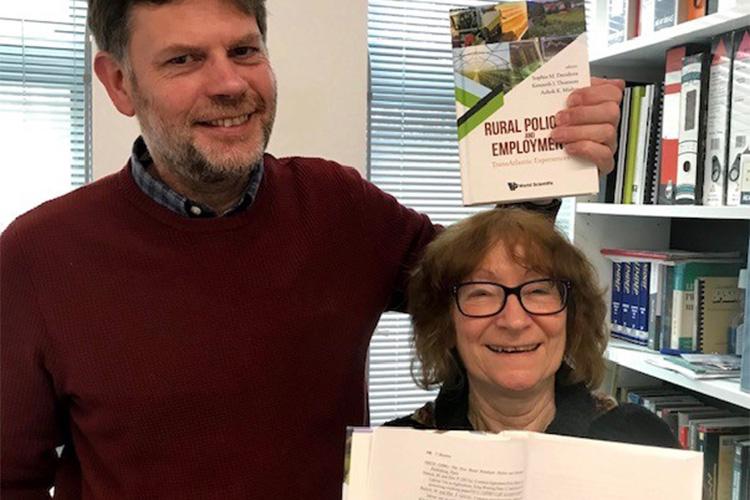 Sophia Davidova and Alastair Bailey with new book