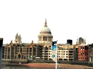 St Paul's Cathedral, the view from Southbank, credits to photographer: charlotte marsh