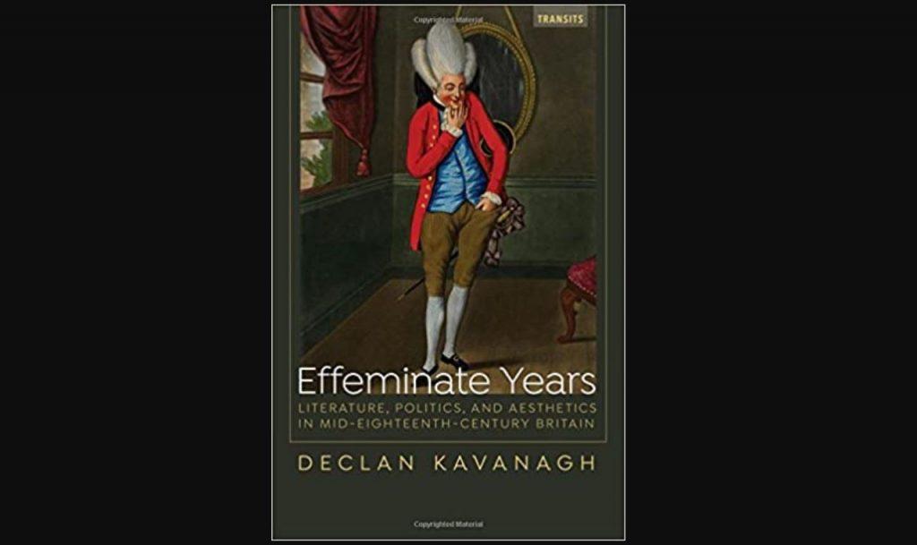 Effeminate Year book cover