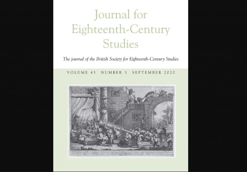 Journal for Eighteenth Century Studies