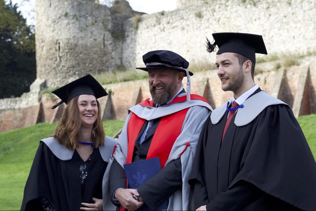 First apprentices at Rochester Cathedral