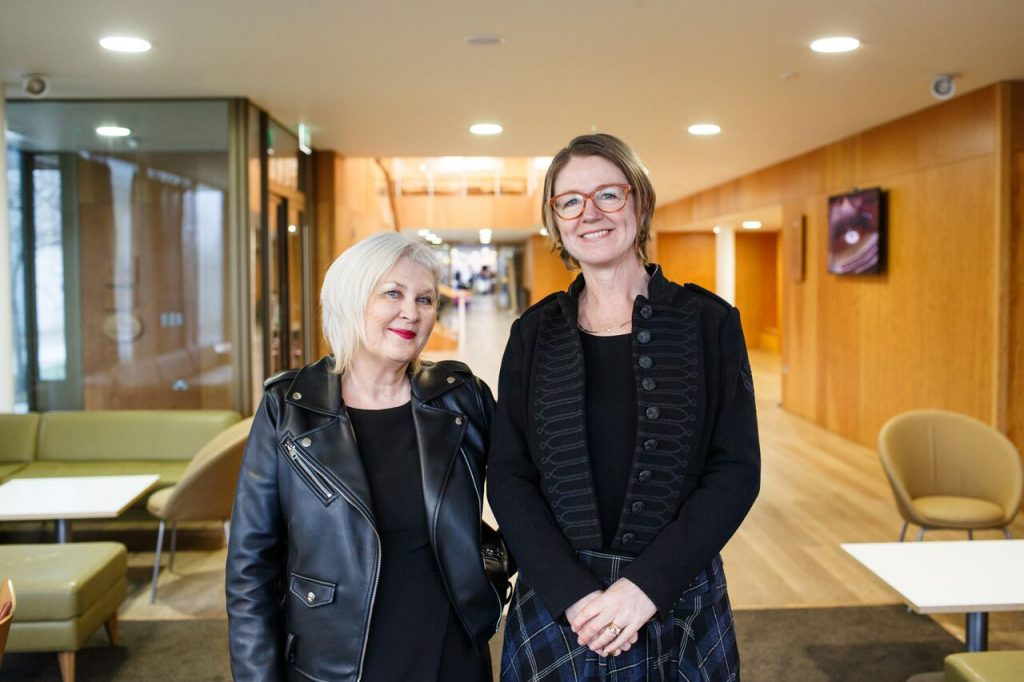 Liz Moran and Catherine Richardson, ICCI co-directors