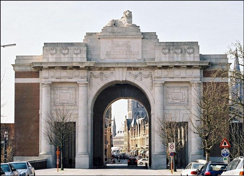 Menin Gate Gateways To The First World War