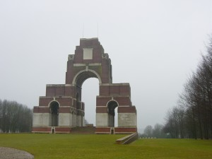 The Thiepval Memorial.