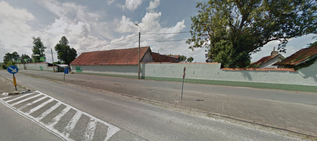 Could this building have been the inspiration for Mottram's 'Spanish farm'? Image © 2014 Google