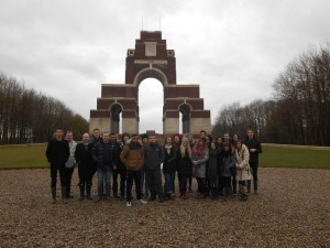 Memorial to the Missing of the Somme, Thiepval.
