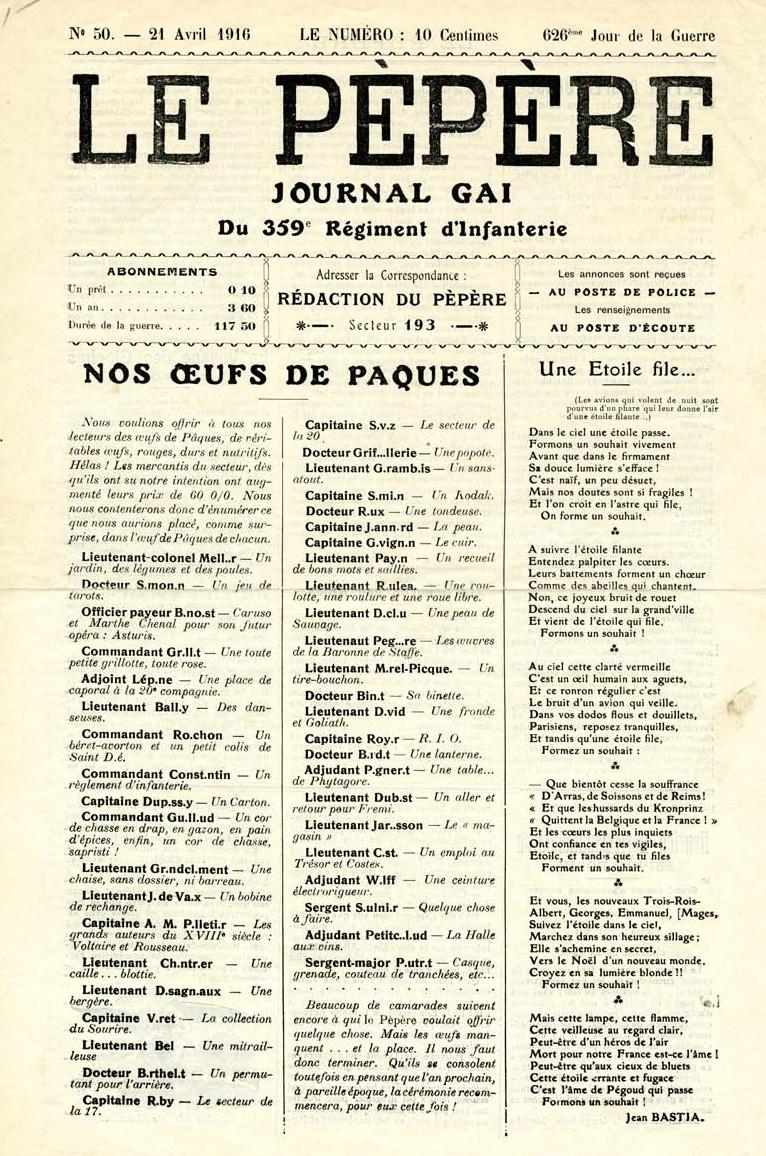 Articles | Gateways to the First World War