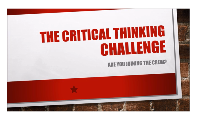 6 critical thinking challenges Encourage kids to think out of the box and sharpen their logical reasoning and problem-solving skills with our fun critical thinking activities for kids.