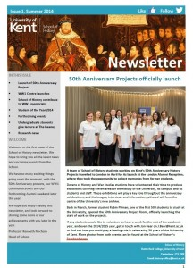 newsletter front cover