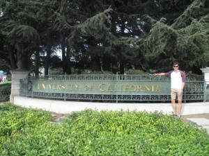 Jack is spending a semester abroad at the University of California