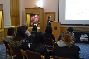 Museum staff gave talks on the careers available, and how best to get into the industry