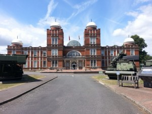 The impressive Ravelin Building, home to the Royal School of Military Engineering and the RE Corps Museum