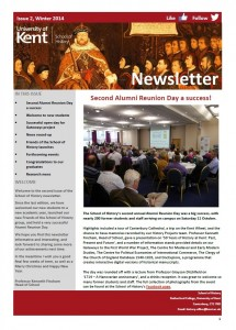 School of History Newsletter - Issue 2