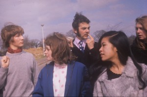 A group of University of Kent students in the 1970s