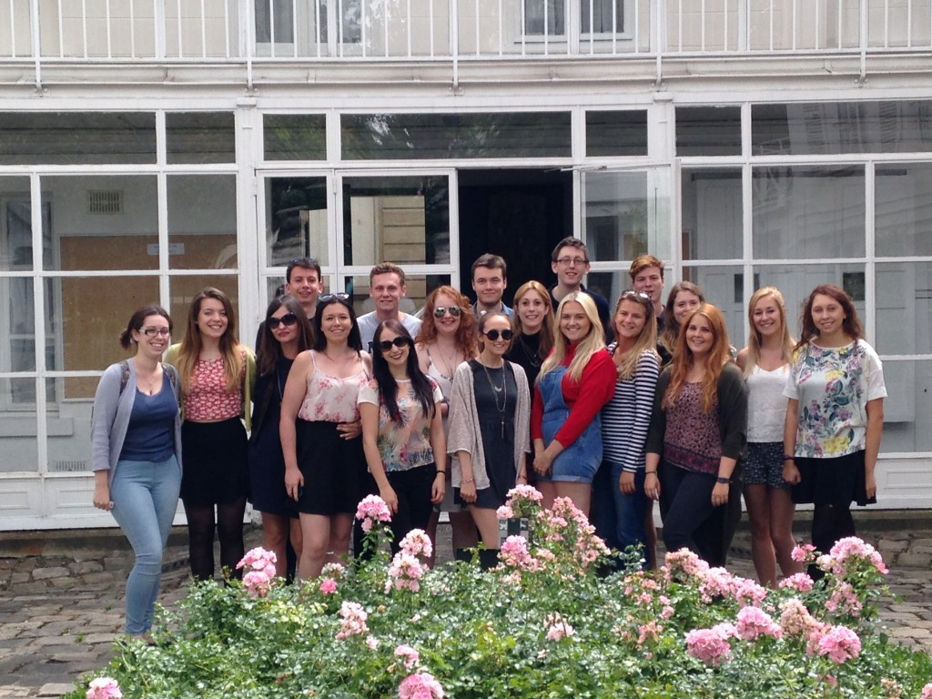 The lucky students who took part in the first History Summer School. The first, I am pleased to say, of many.