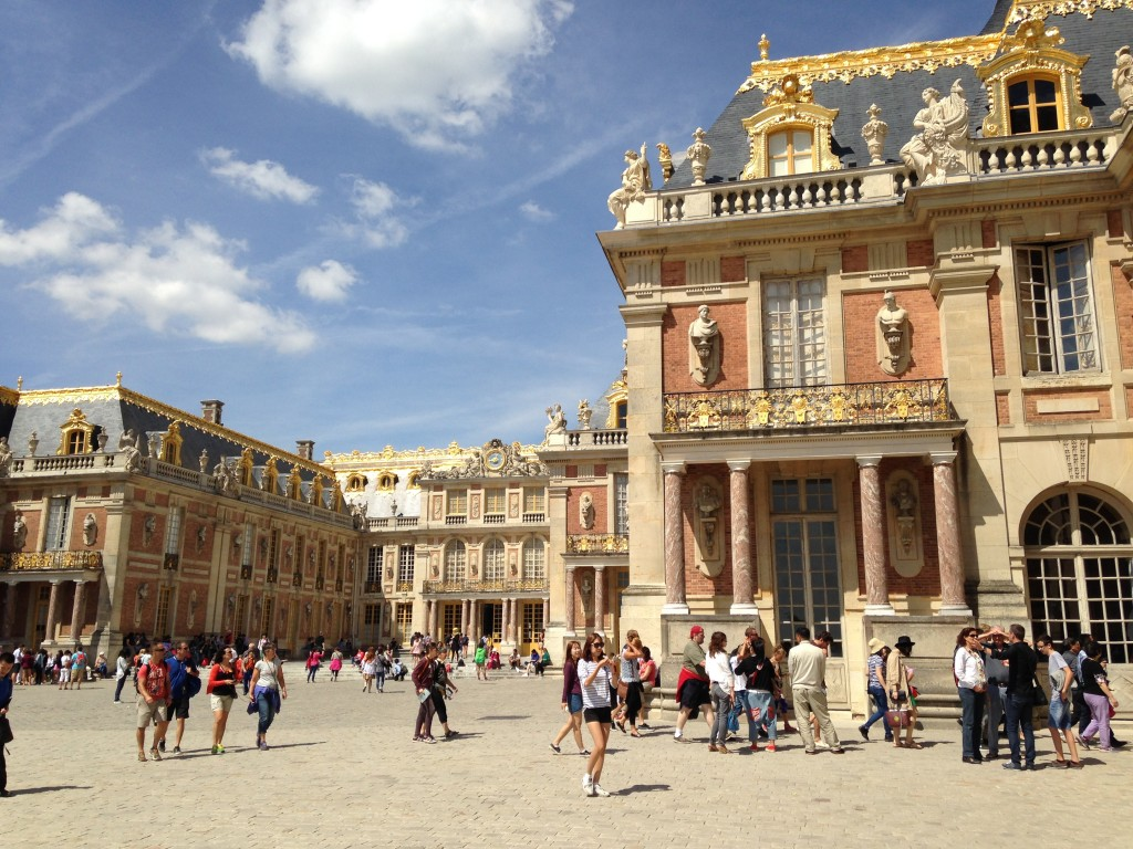 The Palace of Versailles. Gilt in abundance.