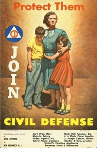 US Civil Defense Poster (1951)