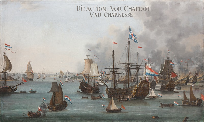 Battle of Chatham - van der Stoop