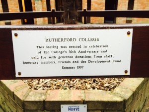 Rutherford Bench