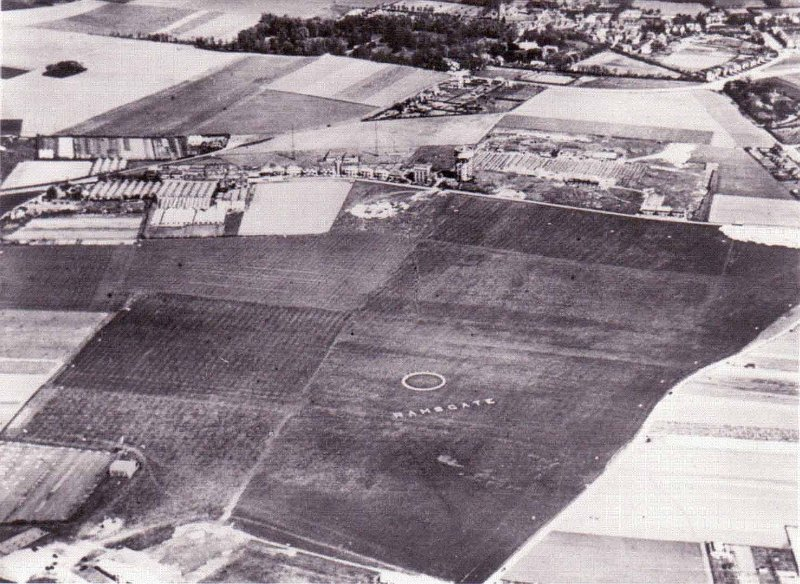 Ramsgate Airport Site, image courtesy of www.ramsgateremembered.com