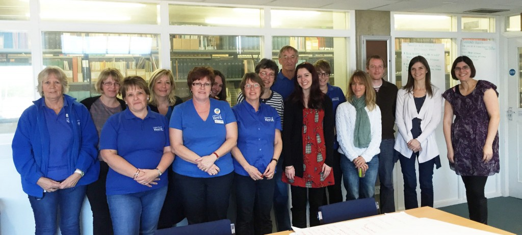 Stock Control staff at the Templeman Library