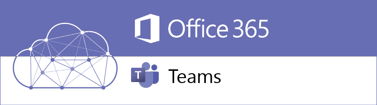 Teams is part of Office 365, logo denotes collaboration