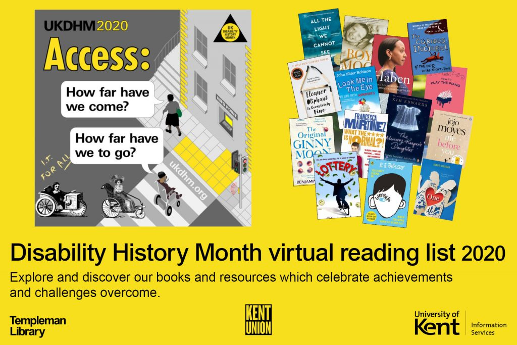UK Disability History Month virtual reading list