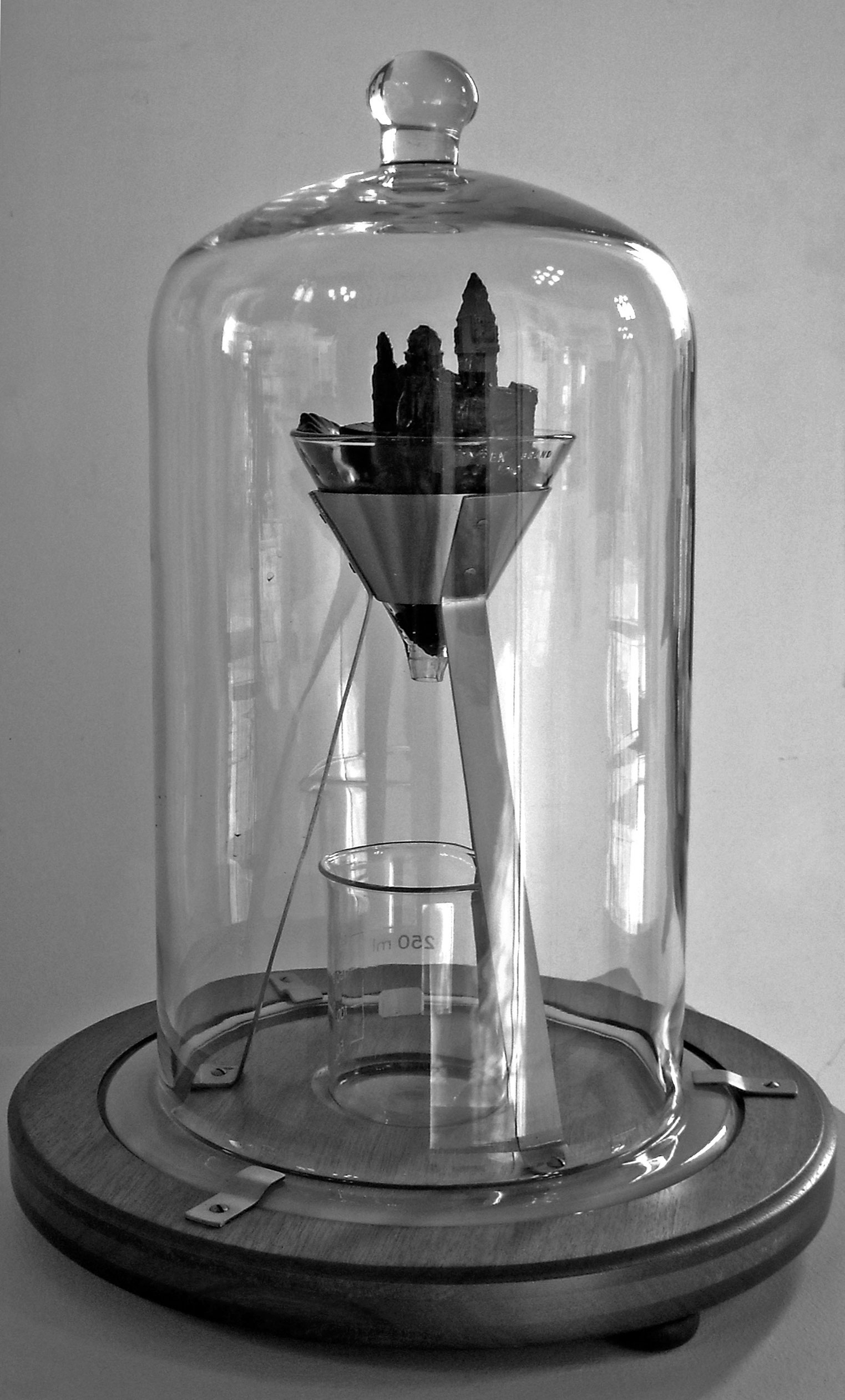 Bell Jar Drawing Tripod Bell Jar Stand