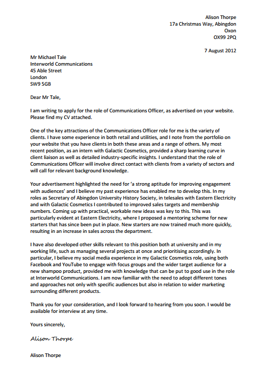 kent university cover letter - how to write a cover letter kent business school