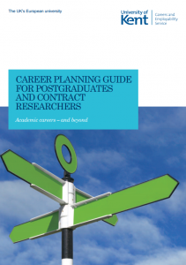 Career planning guide for researchers