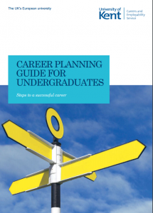 Career planning guide for undergraduates