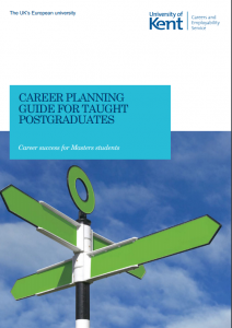Career planning guide taught pgs