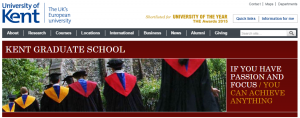Graduate School website