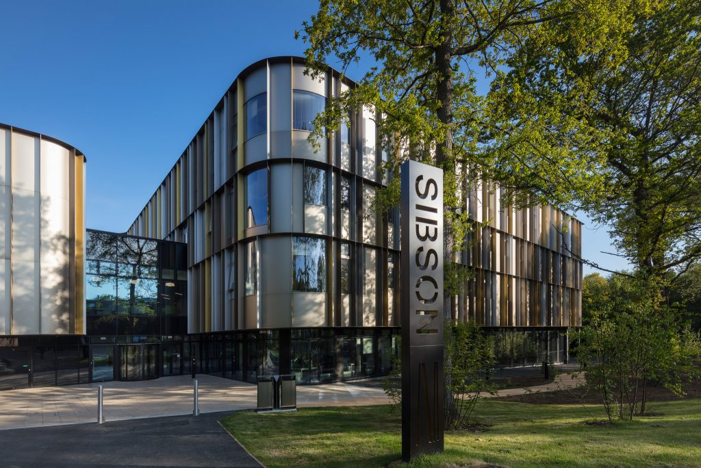 Kent Business School's Sibson Building wins top architecture award