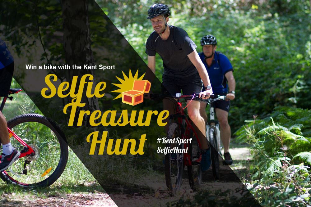 Win a bike competition – Kent Sport Selfie Hunt – Kent Sport