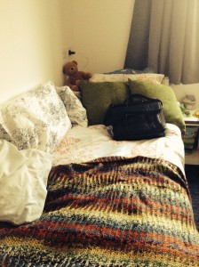 An image of a student bedroom at the University of Kent