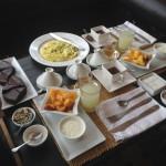 An image of Bjork's breakfast in Morocco