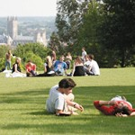An image of the University of Kent Canterbury campus